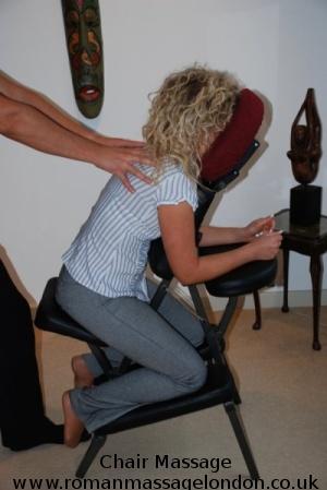 chair massage in london